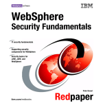 WebSphere Security Fundamentals amentals Front cover