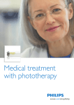 Medical treatment with phototherapy