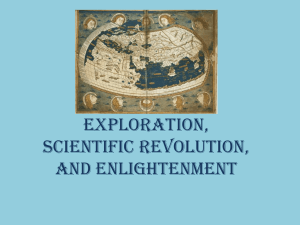 Exploration, Scientific, Revolution, and Enlightenment