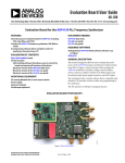 Evaluation Board User Guide UG-380