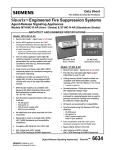 SinorixTM Engineered Fire Suppression Systems