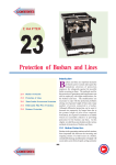 Protection of Busbars and Lines