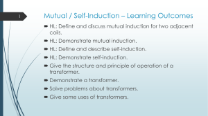 Mutual / Self-Induction – Learning Outcomes