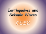Earthquakes and Seismic Waves