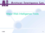 Major Web Intelligence Tools 1 © 2005