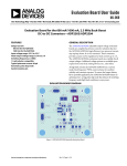 Evaluation Board User Guide UG-060