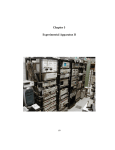 Chapter 5 Experimental Apparatus II