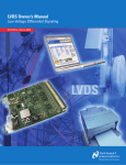 LVDS Owner`s Manual - Low-Voltage Differential Signaling (PDF