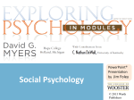 Social Psychology - CCRI Faculty Web