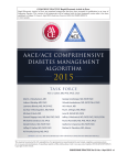 aace/ace comprehensive diabetes management algorithm