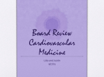 Board Review Cardiovascular Medicine
