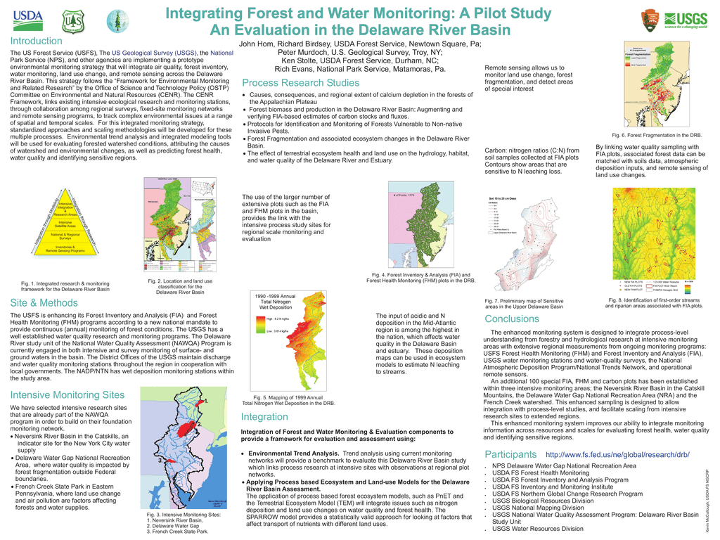 Integrating Forest and Water Monitoring: A Pilot Study