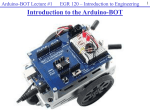 Arduino-BOT Lecture #1