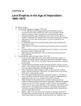 Land Empires in the Age of Imperialism, –1870 1800 CHAPTER 26