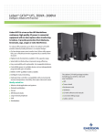 Liebert GXT4 Intelligent, Reliable UPS Protection