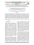 EVALUATION OF SYNCHRONOUS GENERATOR REACTANCE