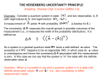 The Heisenberg Uncertainty derivations