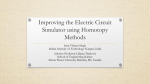 Improving the Electric Circuit Simulator using Homotopy Methods