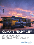 City of Thunder Bay Climate Adaptation Strategy - Climate