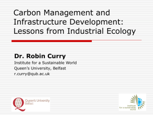 Lecture 1: Introduction to Local Environmental Management