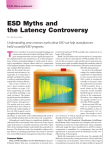 ESD Myths and the Latency Controversy