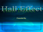 Hall Effect Presentation