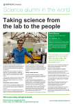Taking science from the lab to the people David Bacon