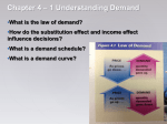 Understanding Demand