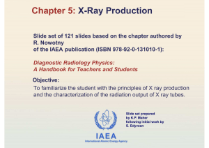 Chapter 5: X-Ray Production
