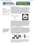 Ground Detection Voltmeter Page 1 of 2 Latest News from Weschler Instruments