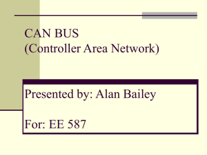 CAN BUS (Controller Area Network)