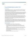 Cisco SPA232D Multi-Line DECT ATA Product Overview