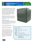 Micro Power Systems™ - Dynapower Energy Storage Systems