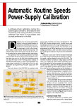 Automatic Routine Speeds Power-Supply