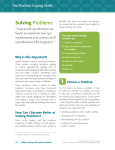 Solving Problems The Positive Coping Skills