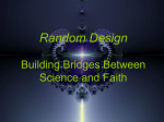 Random Design Building Bridges Between Science and Faith