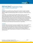 RFMD Application Note Template