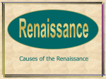 Causes of the Renaissance