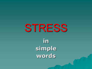 LECTURE_8_Stress in simple words