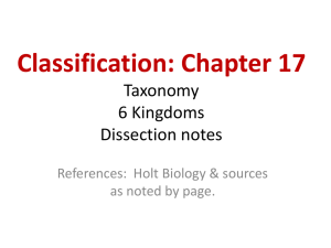 Chapter Notes - schallesbiology