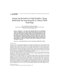 Design and Simulation of High Stability 2-Stage Differential Op