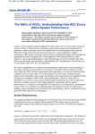 The ABCs of ADCs: Understanding How ADC Errors Affect System