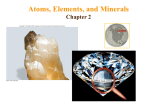 Atoms, Elements, and Minerals Chapter 2