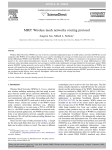 MRP: Wireless mesh networks routing protocol Jangeun Jun, Mihail L. Sichitiu