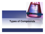 Types of Compounds