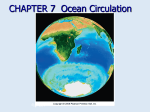 CHAPTER 7  Ocean Circulation Fig. CO7