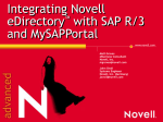Novell & SAP Integration