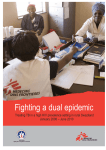 Fighting a dual epidemic