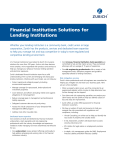 Financial Institution Solutions for Lending Institutions