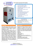 AC current sources GI1K series